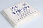 "SIG ... GLASS CLOTH  6 oz. 36""X38"""