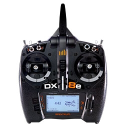SPEKTRUM ... DX8E 8 CH TRANSMITTER ONLY 2.4ghz