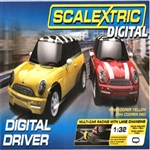 SCALEXTRIC C1197T... DIGITAL DRIVER SET MINI COOPER
