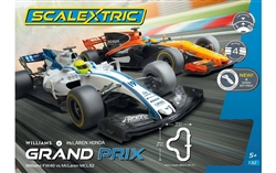 SCALEXTRIC ... GRAND PRIX F1 WILLIAMS FW40 VS MCLAREN MCL32