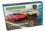 SCALEXTRIC ... LAMBORGHINI RAMPAGE SET CENTENARIO RED VS YELLOW