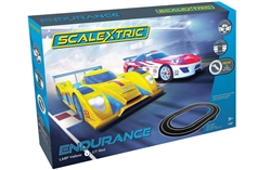 SCALEXTRIC ... ENDURANCE LMP YELLOW V GT RED SET