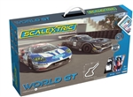 SCALEXTRIC ... ARC AIR WORLD GT (FORD GT GTE V MERCEDES AMG GT3)