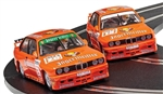 SCALEXTRIC ... BMW E30 M3 - TEAM JAGERMEISTER TWIN PACK