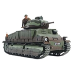 TAMIYA 35344... FRENCH MEDIUM TANK SOMUA 1/35