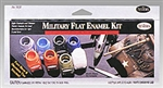 TESTORS ... PAINT SET MILITARY FLAT KIT