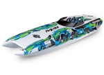 "TRAXXAS EEN... M41 40"" CATAMARAN ELECTRIC GREEN"