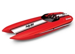 "TRAXXAS D... M41 40"" CATAMARAN ELECTRIC RED"
