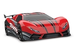 TRAXXAS D... XO-1 1/7 SCALE AWD SUPER CAR RED W/TSM