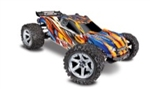 TRAXXAS ANGE... RUSTLER 4X4 VXL ORANGE