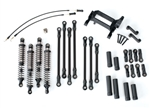 TRAXXAS ... LIFT KIT LONG ARM TRX-4 BLACK