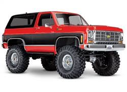 TRAXXAS D... TRX-4 CHEVY BLAZER RED 1979