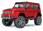 TRAXXAS D... TRX-4 Crawler Mercedes-Benzr G 500r RED  Scale and TrailT