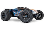 TRAXXAS ANGE... E-REVO 2 ORANGE TSM 6S  4WD BRUSHLESS