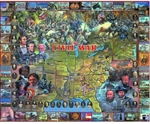 WHITE MOUNTAIN PUZZLES ... CIVIL WAR HISTORICAL FACTS & PEOPLE COLLAGE PUZZLE (1000PC)