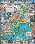 WHITE MOUNTAIN PUZZLES ... HISTORIC WASHINGTON, D.C. COLLAGE PUZZLE (1000PC)
