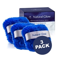 Natural Glow Body Bronzing Shimmer Puff 3 Pack