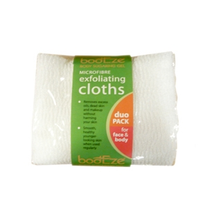 bodEze Microfibre Exfoliating Cloths