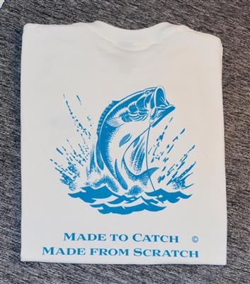 """Made from Scratch, Made to Catch"" Fishing Shirt"