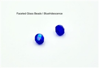 Faceted Glass Beads | Color Shift Iridescent