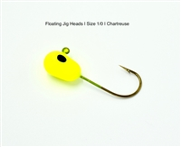 Floating Jig Heads for Walleye