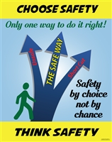 Choose Safety Poster