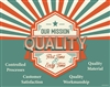 Our Mission Quality Poster
