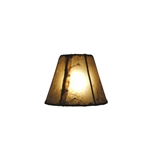 CHAND-MED - Chandelier Rawhide Natural Shade
