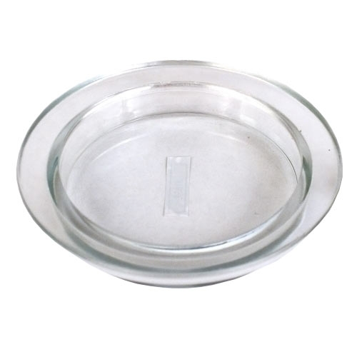 Glass Candle Plate Set Of 6