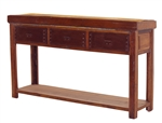 Montana Console Table w/ 3 Drawers