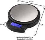 AWS Axis Digital Pocket Scale 100 x .01g