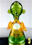 "Erk De Jerk Glass ""Energy Orb"" Man Beaker"