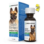 Green Roads - Medium Dog Formula Tincture - 210mg