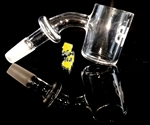 Joel Halen Bucket  25mm Flat Top Quartz Banger 10MM 45