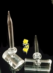 Joel Halen Glass Trough FLow Carb Cap Dabber