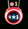 Smart Glass Captain America Shield Pendant