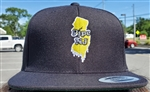 Pipe NJ Black & Yellow Snapback