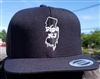 Pipe NJ Black & White Snapback