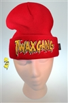TwaxGang Red/Gold Beanie