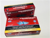 Disposable Nitrile Gloves. Black or Blue.