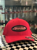 Specialty Fasteners Red Flexfit hat