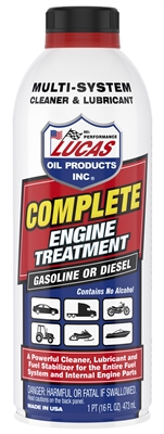 Lucas Complete Engine Treatment. 16 oz 10016