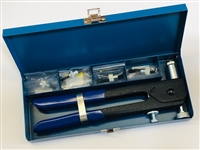 Nut Sert tool kit. Comes with squeeze tool and 6-32, 8-32, 10-24, 10-32, 1/4-20 & 5/16-18.