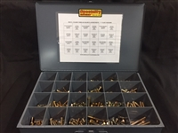 900 PC. Grade 8 coarse thread bolt kit. Bolts are made in the USA. Comes with metal drawer.