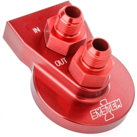 System 1 Remote Filter Mount 2 bolt. Red or Black.