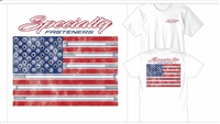 Specialty Fasteners American flag shirt