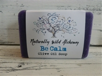 Be Calm Olive Oil Soap Bar