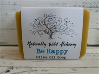 Be Happy Aromatherapy Olive Oil Soap