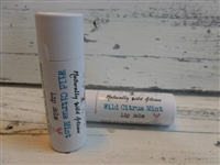 Wild Citrus Mint Lip Balm paperboard tube
