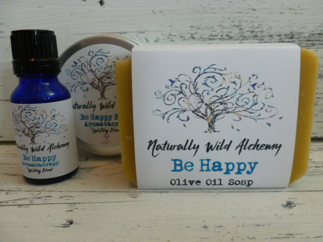 Be Happy Aromatherapy Set 3 pc